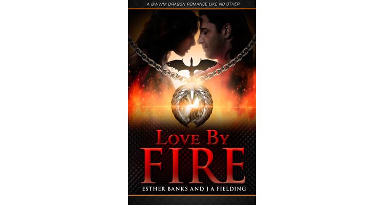 Love By Fire - Paranormal BWWM Dragon Romance